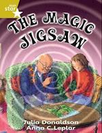 Rigby Star Guided 2 Gold Level: The Magic Jigsaw Pupil Book (single) (Rigby Star)