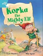 Rigby Star Guided 2, Turquoise Level: Korka the Mighty Elf Pupil Book (single) (Rigby Star)
