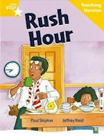 Rigby Star Guided Reading Yellow Level: Rush Hour Teaching Version (Starquest)