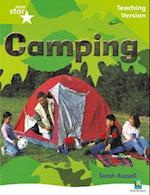 Rigby Star Non-fiction Guided Reading Green Level: Camping Teaching Version (Starquest)