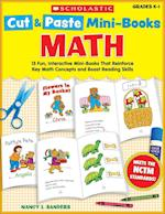 Cut & Paste Mini-books Math Grades K-1 (Cut & Paste Mini-books)