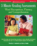 3-minute Reading Assessments Word Recognition, Fluency, & Comprehension