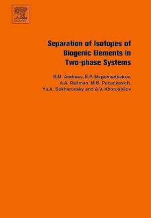 Separation of Isotopes of Biogenic Elements in Two-phase Systems