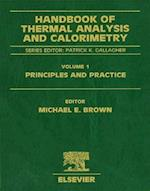 Handbook of Thermal Analysis and Calorimetry (Handbook of Thermal Analysis and Calorimetry, nr. 1)