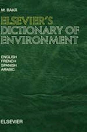 Elsevier's Dictionary of Environment