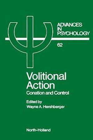 Bog, hardback Volitional Action af Wayne A. Hershberger
