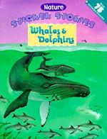 Whales & Dolphins [With 75 Reusable Stickers] (Nature Sticker Stories)