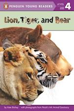 Lion, Tiger, and Bear (Penguin Young Readers, Level 2)