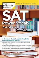 The Princeton Review SAT Power Vocab (PRINCETON REVIEW SERIES)