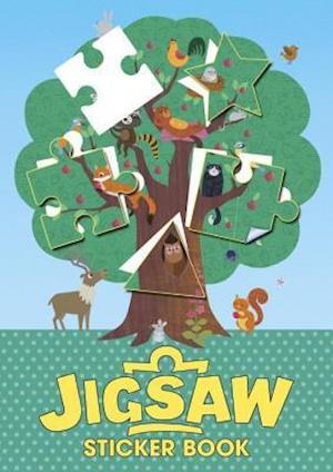 Bog, paperback Jigsaw Sticker Book af Genie Espinosa
