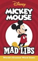 Mickey Mouse Mad Libs (Mad Libs)