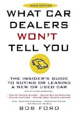 What Car Dealers Won't Tell You