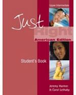 Just Right Upper Intermediate: Split A Workbook with Audio CD (US)