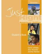 Just Right Elementary - Workbook without Answer Key + Audio CD (Just Right Course)