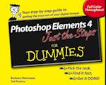 Photoshop Elements 4 Just the Steps For Dummies af Ted Padova