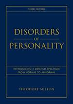 Disorders of Personality (Wiley Series on Personality Processes)
