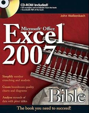 Bog, paperback Excel 2007 Bible af John Walkenbach