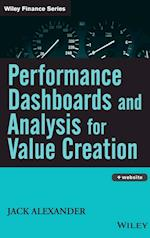 Performance Dashboards and Analysis for Value Creation [With CDROM]
