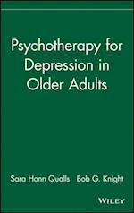 Psychotherapy for Depression in Older Adults (Wiley Series in Clinical Geropsychology)