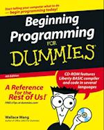 Beginning Programming For Dummies af Wallace Wang