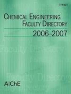 Chemical Engineering Faculty Directory