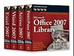 Microsoft Office 2007 Library Bible [With 4 CDROMs]