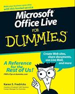 Microsoft Office Live For Dummies