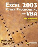 Microsoft Office Excel 2003 Power Programming with VBA [With CDROM and Financial Instrument Pricing Using C++]