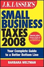 J.K. Lasser's Small Business Taxes 2008 af Barbara Weltman