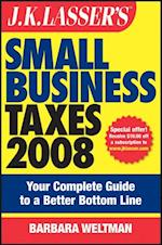 J.K. Lasser's Small Business Taxes 2008 af Barbara Weltman