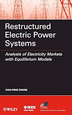 Restructured Electric Power Systems (IEEE Press Series on Power Engineering, nr. 43)