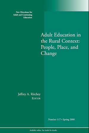 Adult Ed in Rural Context 117