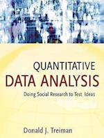 Quantitative Data Analysis (Research Methods for the Social Sciences)