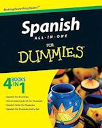 Spanish All-In-One for Dummies af Consumer Dummies, Jessica Langemeier, Gail Stein