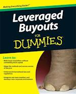 Leveraged Buyouts for Dummies (For dummies)