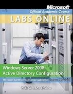Exam 70-640 Moac Labs Online (Microsoft Official Academic Course, nr. 667)