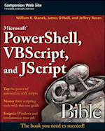 Microsoft PowerShell, VBScript and JScript Bible (Bible)