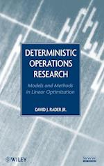 Deterministic Operations Research