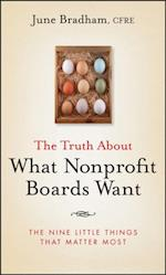 Truth About What Nonprofit Boards Want