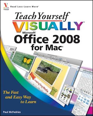 Teach Yourself VISUALLY Office 2008 for Mac af Paul Mcfedries