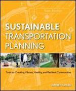 Sustainable Transportation Planning (The Wiley Series in Sustainable Design)