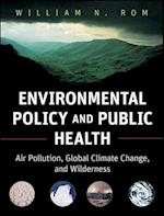 Environmental Policy and Public Health (Public Health/Environmental Health)