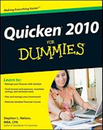 Quicken 2010 For Dummies