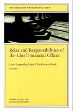 Roles and Responsibilities of the Chief Financial Officer (J-b He Single Issue Higher Education)