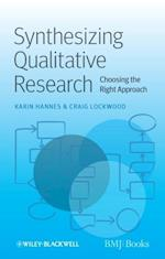 Synthesizing Qualitative Research