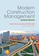 Modern Construction Management af Frank Harris