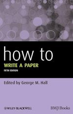 How to Write a Paper 5E (How - How to)