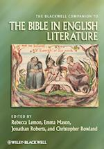 The Blackwell Companion to the Bible in English Literature af Rebecca Lemon, Jonathan Roberts, Christopher Rowland
