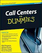 Call Centers For Dummies (For dummies)