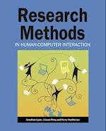 Research Methods in Human-computer Interaction af Jonathan Lazar